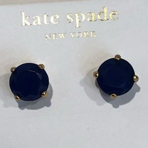 Kate Spade blue post earrings